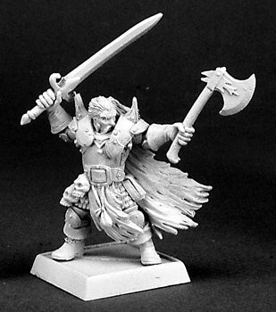 14313: Boris Mingla, Mercenaries Warlord sculpted by Bobby Jackson: www.mightylancergames.co.uk