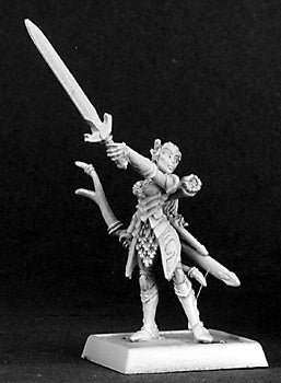 14322: Callindra Silverspell sculpted by Bobby Jackson: www.mightylancergames.co.uk