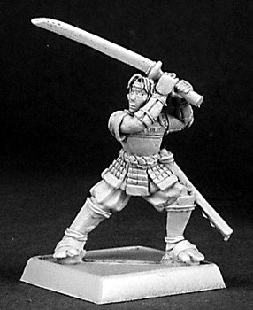 14338: Okuran, Mercenary, sculpted by Jason Wiebe: www.mightylancergames.co.uk