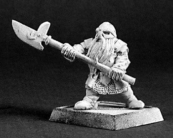 Reaper Warlord 14397 - Halberdier, Dwarves: www.mightylancergames.co.uk