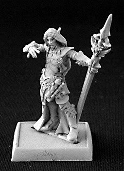 Reaper Warlord - Larnach the Grey, Elves: www.mightylancergames.co.uk