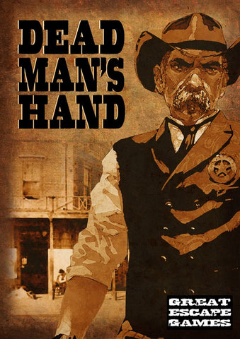 Dead Man's Hand - Rulebook and Cards