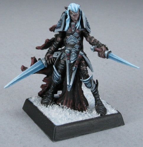 Reaper Warlord 14570 - Dark Elf Warrior: www.mightylancergames.co.uk