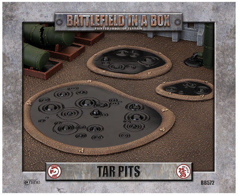 Battlefield in a Box: Tar Pits (BB572) Mighty Lancer Games