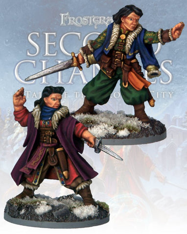 Frostgrave: Yelen & Mirika Semova: www.mightylancergames.co.uk