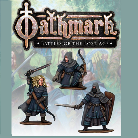 Elf Light Infantry Champions - Oathmark - OAK117