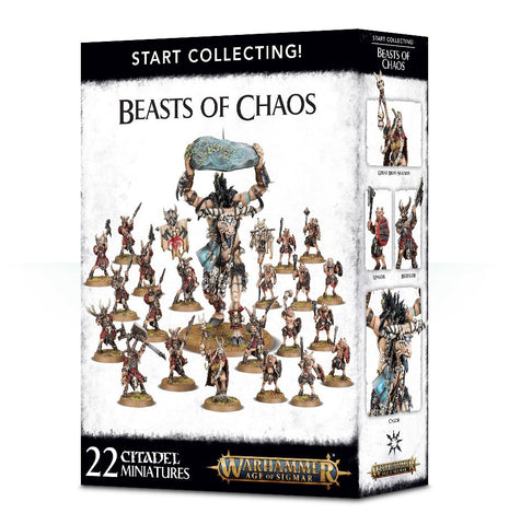 Age of Sigmar: Beasts of Chaos: Start Collecting: www.mightylancergames.co.uk