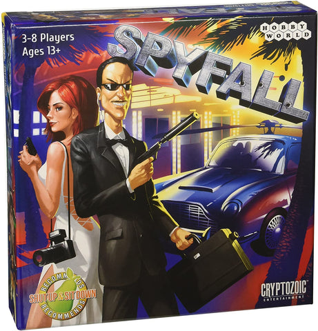 Spyfall - Board Game :www.mightylancergames.co.uk