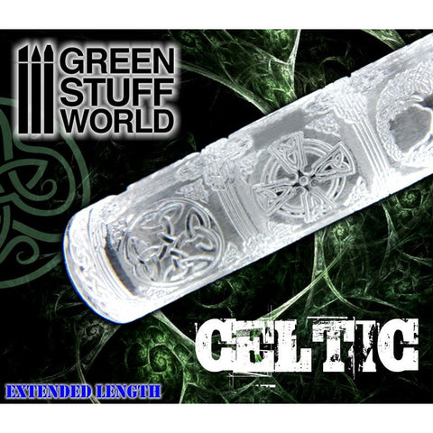 Celtic - Rolling Pin - 1223 Green Stuff World