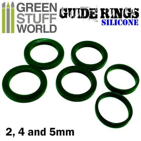 Silicone Guide Rings - 1444 - Green Stuff World