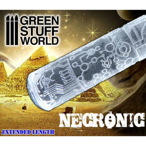 NECRONIC EVOLUTION - Rolling Pin - 1681 Green Stuff World