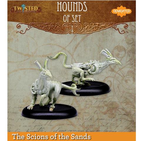 Hound of Set - Twisted - RESIN