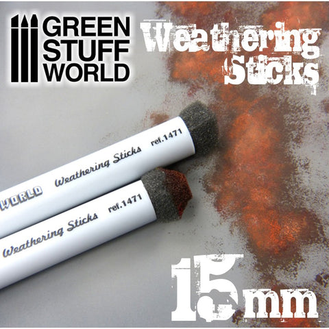 Weathering Brushes 15mm -9312- Green Stuff World