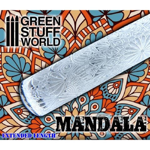 MANDALA- Rolling Pin - 1999 Green Stuff World