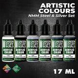 NMM Steel and Silver - Paint Set - GSW