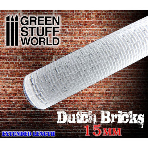 DUTCH Bricks 15mm - Rolling Pin - 1626 Green Stuff World