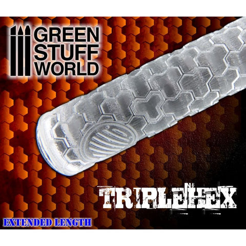 TripleHex - Rolling Pin - 1161 Green Stuff World