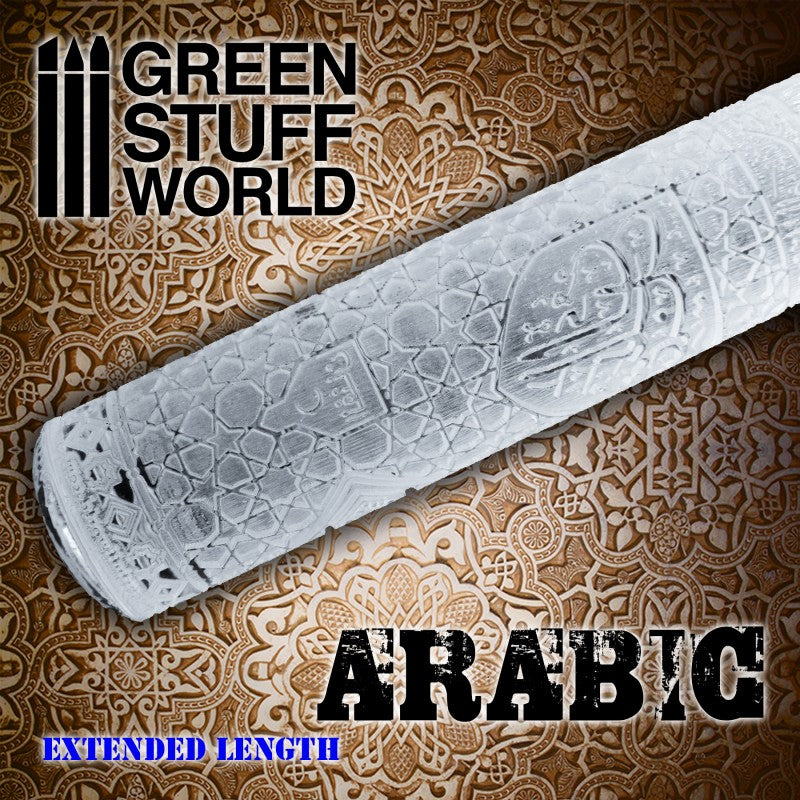 ARABIC - Rolling Pin - 2166 Green Stuff World