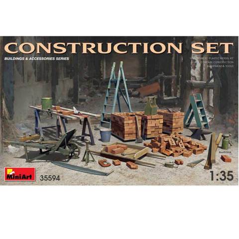 CONSTRUCTION SET - 1:35- MiniArt - 35594