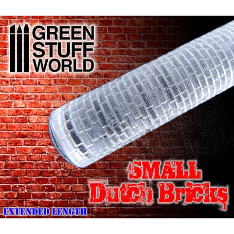 Small DUTCH Bricks - Rolling Pin - 1660 Green Stuff World