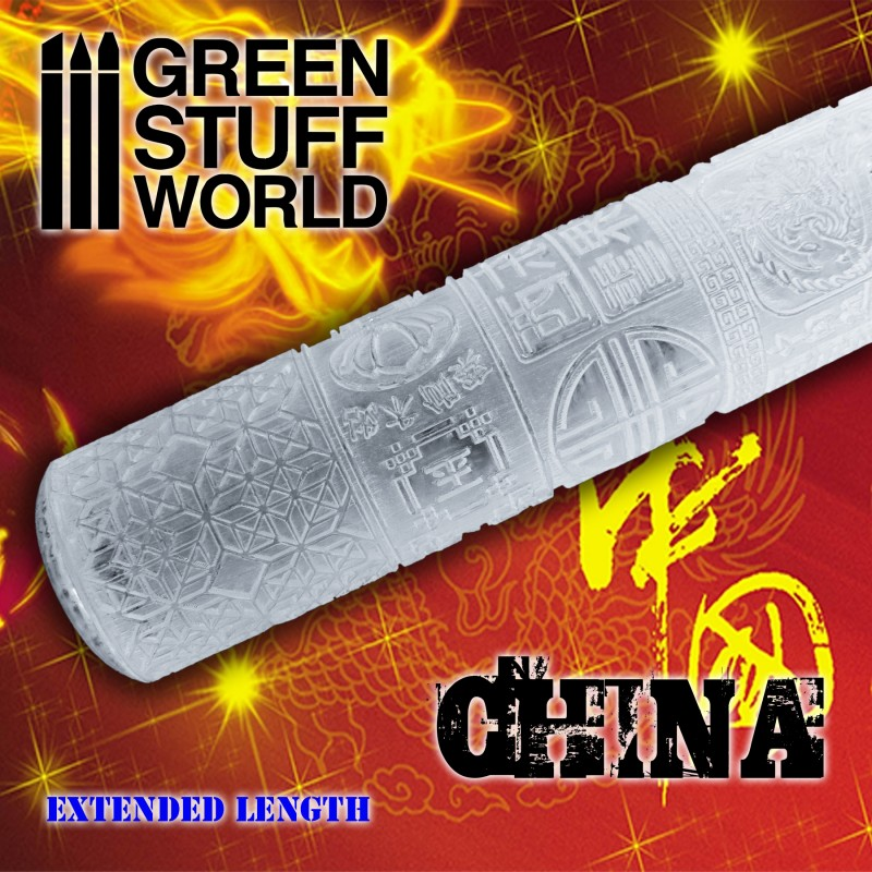 CHINESE - Rolling Pin - 2167 Green Stuff World