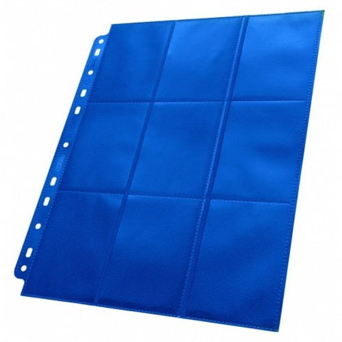 ULTIMATE GUARD 1CT 18-POCKET PAGE SIDE-LOADING - BLUE