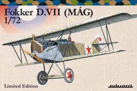 Fokker D. VII (MÁG) 1/72 (Eduard Kit -Limited Edition)