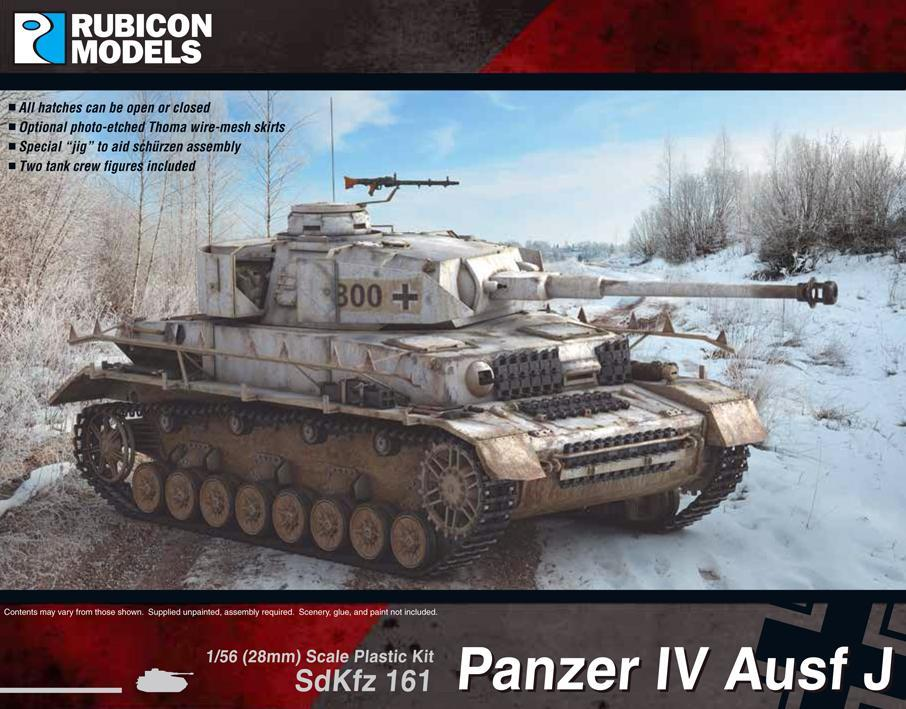 Rubicon Models Panzer IV Ausf J: www.mightylancergames,co.uk