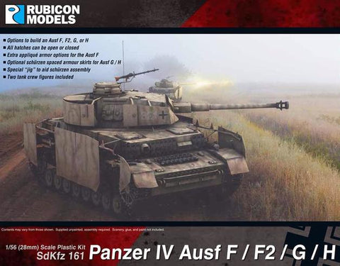 Panzer IV Ausf F / F2 / G / H: www.mightylancergames.co.uk