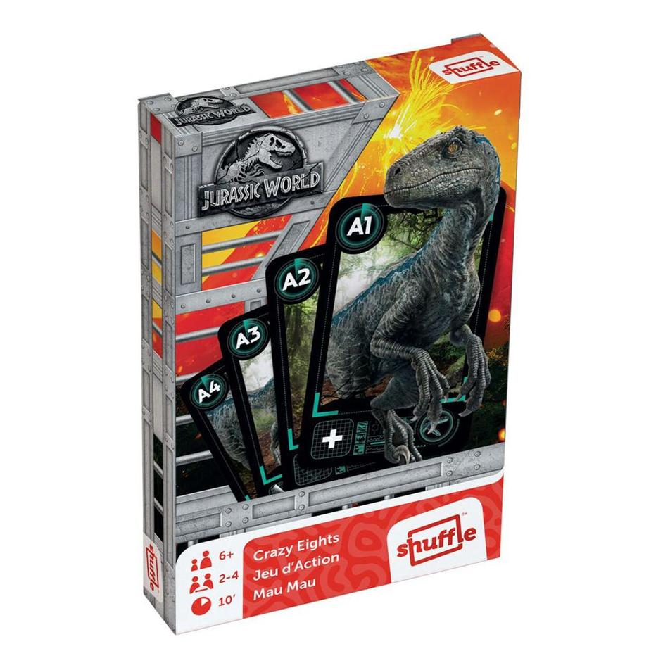 Jurassic World Crazy Eights Card Game