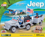 Cobi - Small Army -Willys MB Jeep US Navy (190 Pcs): www.mightylancergames.co.uk