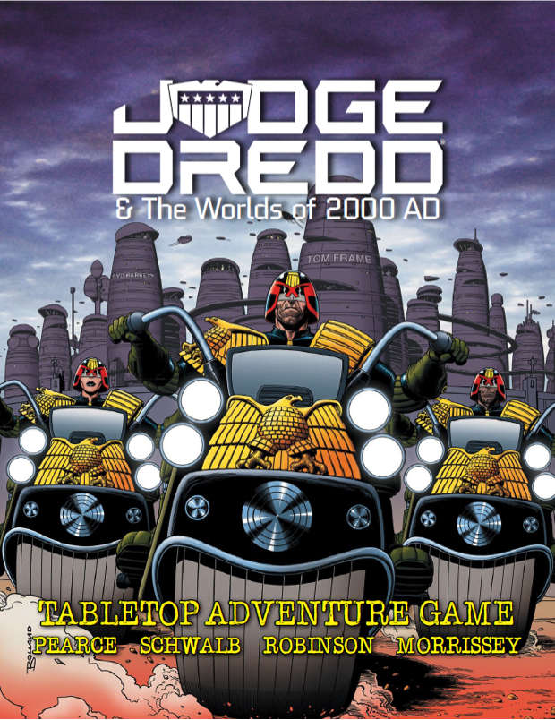 Judge Dredd  & The Worlds of 2000AD - Tabletop Adventure Game: www.mightylancergames.co.uk