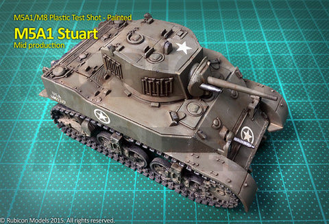 M5A1 Stuart / M5A1 Recce - Allies (Rubicon) :www.mightylancergames.co.uk
