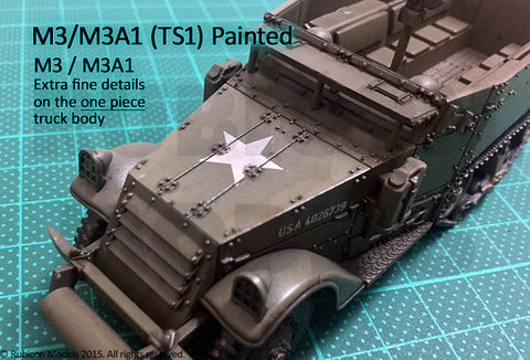 M3 / M3A1 Half Track - United States (Rubicon Models 280027) :www.mightylancergames.co.uk