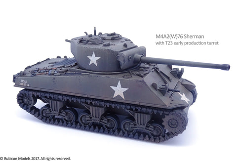 M4A2(W)76 Sherman  (Rubicon 280054) :www.mightylancergames.co.uk