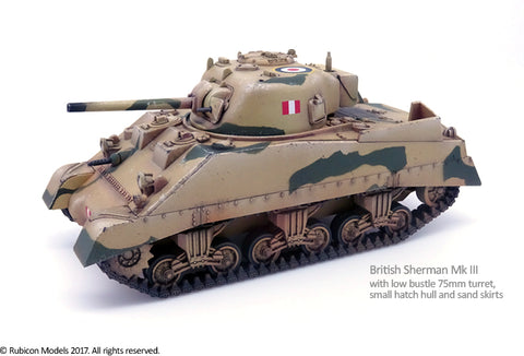 M4A2 Sherman / Sherman Mk III - United States (Rubicon Models) :www.mightylancergames.co.uk