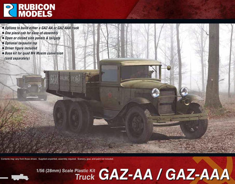 Soviet GAZ-AA / GAZ - AAA (Rubicon) :www.mightylancergames.co.uk