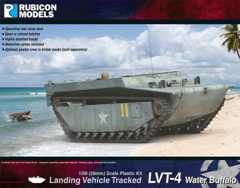 LVT-4 Water Buffalo - United States (Rubicon) :www.mightylancergames.co.uk