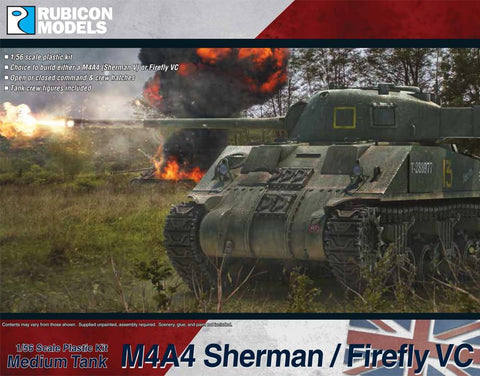 M4A4 Sherman / Firefly (Rubicon Models) :www.mightylancergames.co.uk