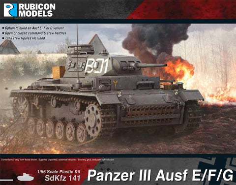 Panzer III Ausf E/F/G (Rubicon Models) :www.mightylancergames.co.uk