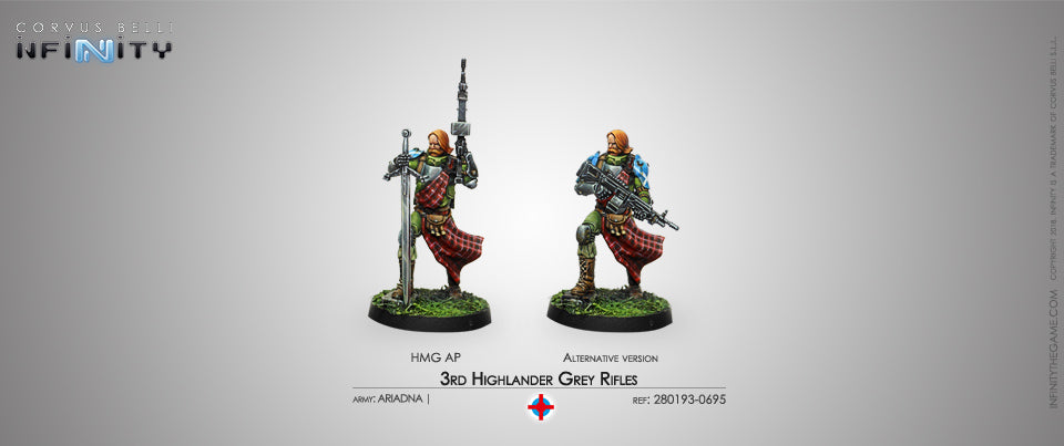 Ariadna: 3RD HIGHLANDER GREY RIFLES (HMG) [0695]