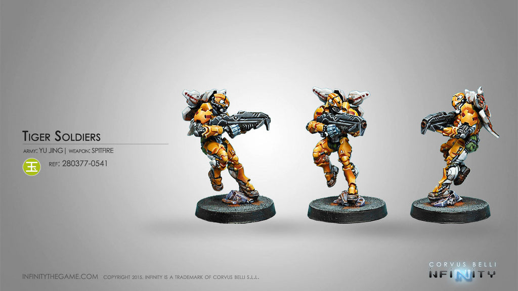 Yu Jing: Tiger Soldier (Spitfire) [0541]