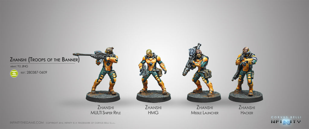 Yu Jing: Zhanshi (Troops of the Banner) [0609]