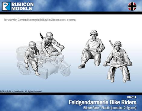 Feldgendarmerie Bike Riders (Rubicon Models 284011) :www.mightylancergames.co.uk