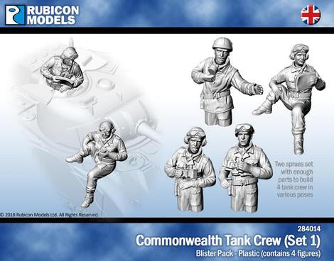 Commonwealth Tank Crew (Rubicon 284014) :www.mightylancergames.co.uk