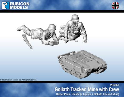 Goliath Tracked Mine with Crew (Rubicon Models 284058) :www.mightylancergames.co.uk