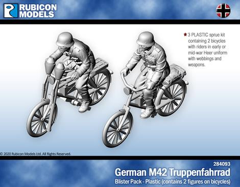 German M42 Truppenfahrrad (Rubicon 284093) :www.mightylancergames.co.uk