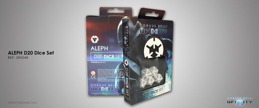 Aleph: D20 Dice Set
