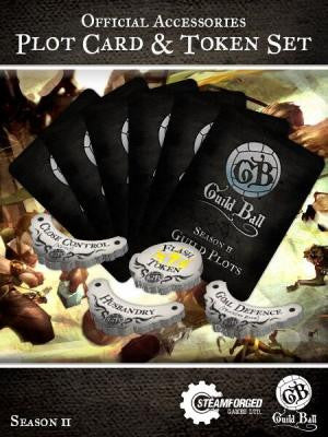 Guild Ball: Season 2 Plot Cards & Token Set