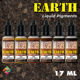 Earth Liquid Pigments Set - 10128 -Green Stuff World